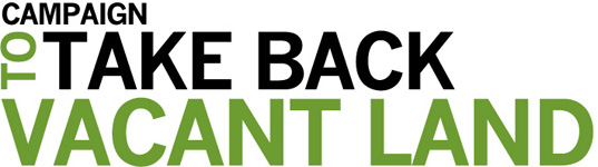 campaign to take back vacant land